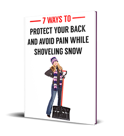 Book cover - 7 ways to protect your back and avoid pain